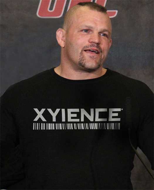 Xyience Signs Deal With Chuck Liddell